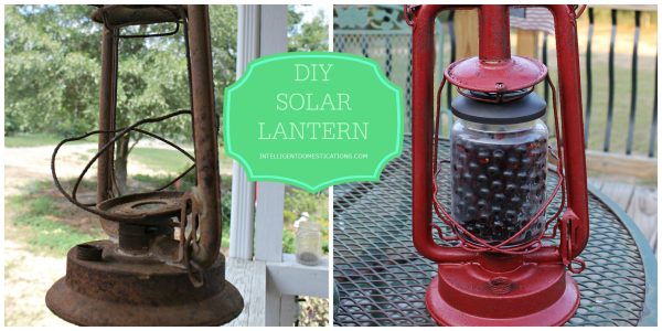 How to repurpose an old lantern into solar light