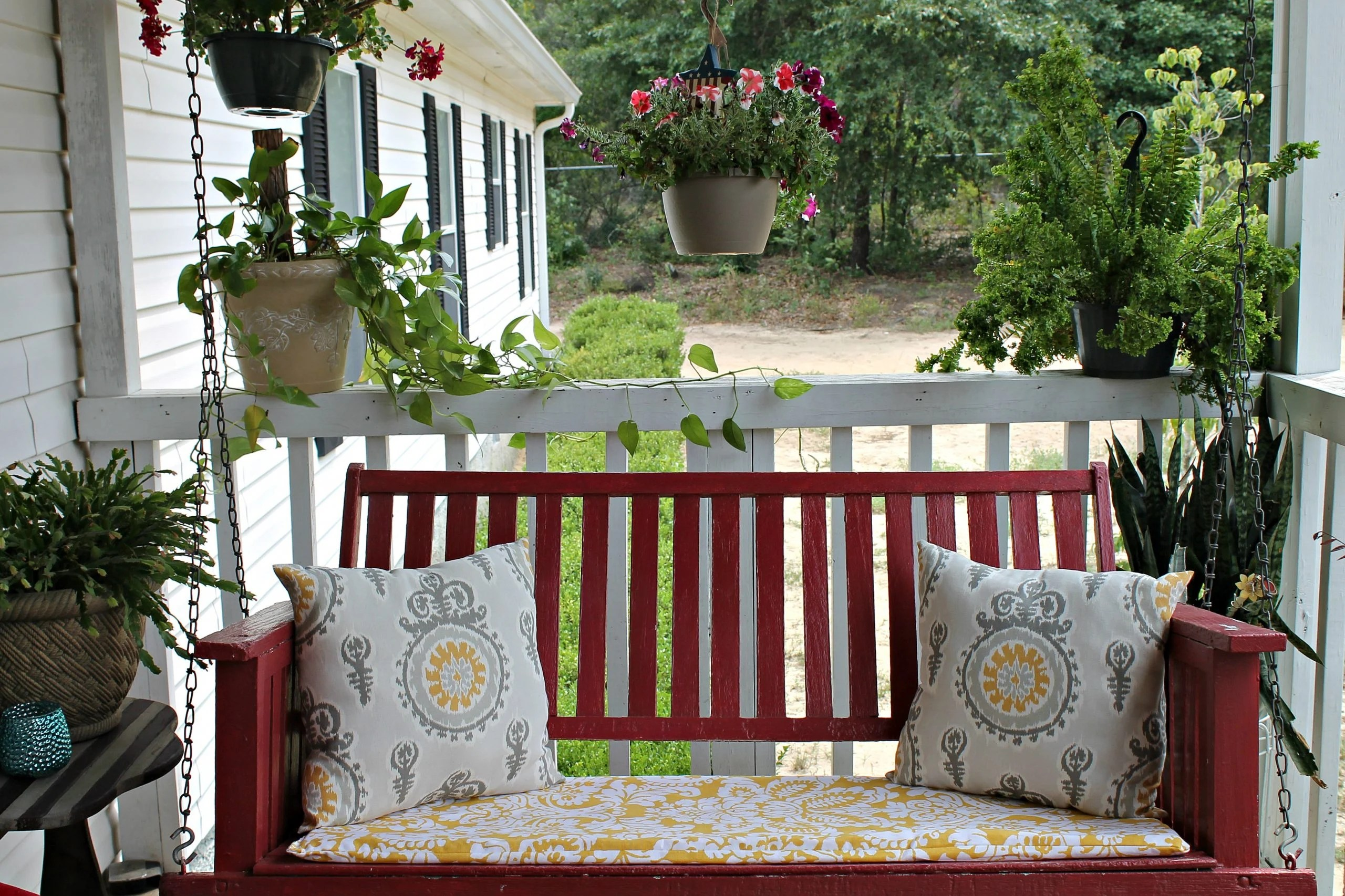 Our Bud Friendly Porch Makeover Reveal