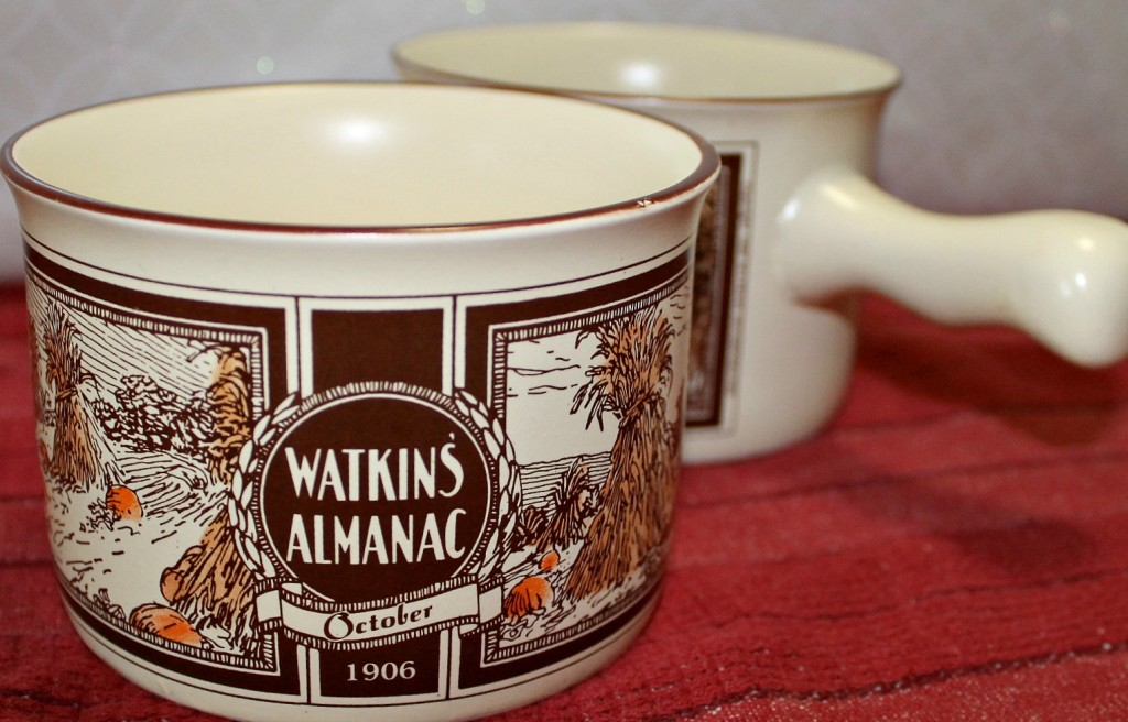 Watkins Vintage Soup Bowl with Handle.intelligentdomestications.com