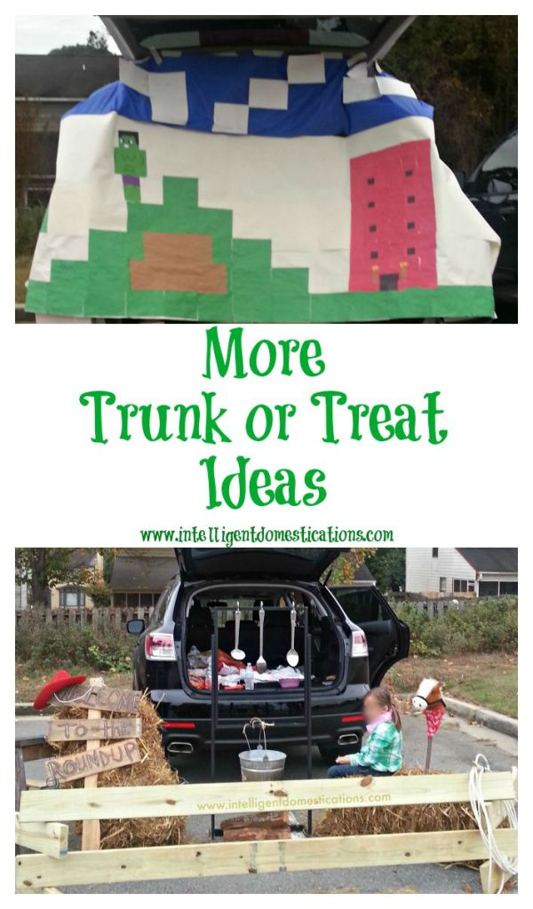 More Trunk or Treat Ideas at www.intelligentdomestications.com