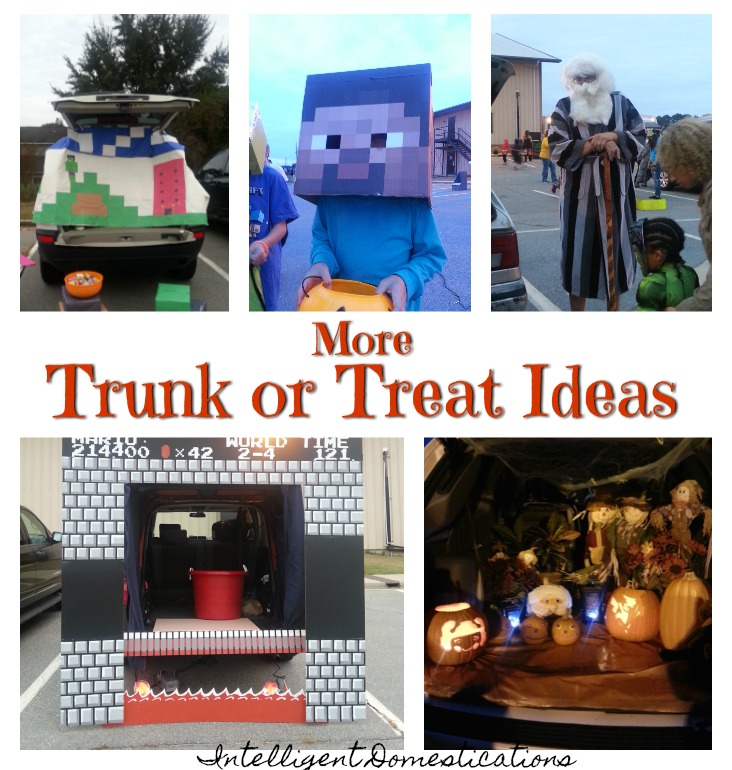 More Fun Trunk or Treat Ideas