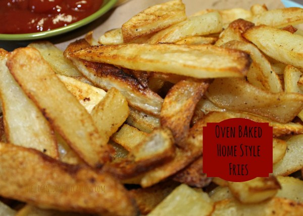 Oven Baked Homestyle Fries Served with Ketchup.intelligentdomestications.com