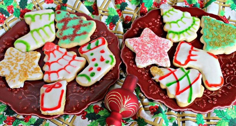 Tea Cake Christmas Cookies