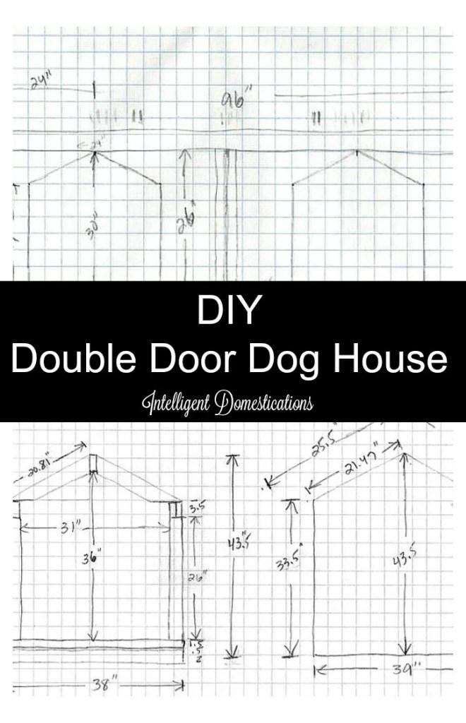 Diy Double Door Dog House