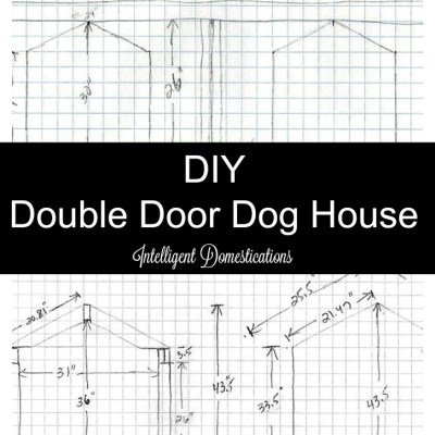 DIY Double Door Dog House