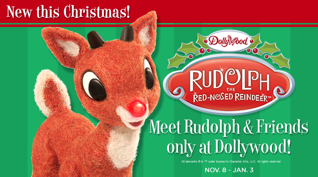 Rudolph and Friends at Dollywood