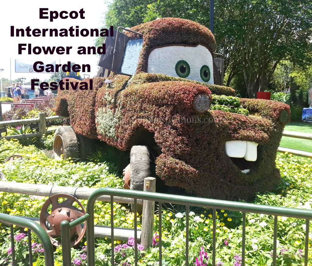 Towmater all dressed up for the 2014 Epcot International Flower & Garden Festival.intelligentdomestications.com