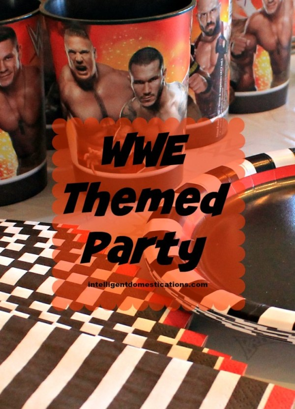 WWE Theme Party Ideas