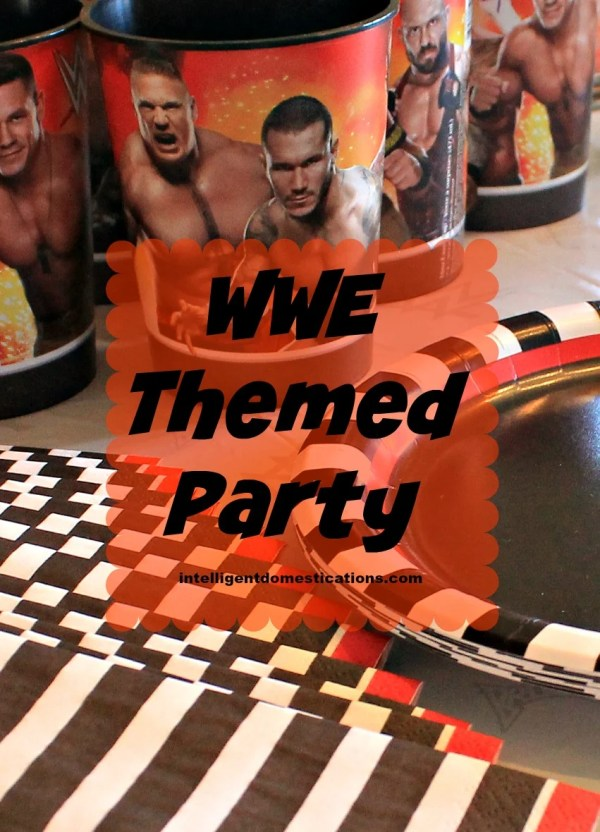 WWE Themed Party Ideas
