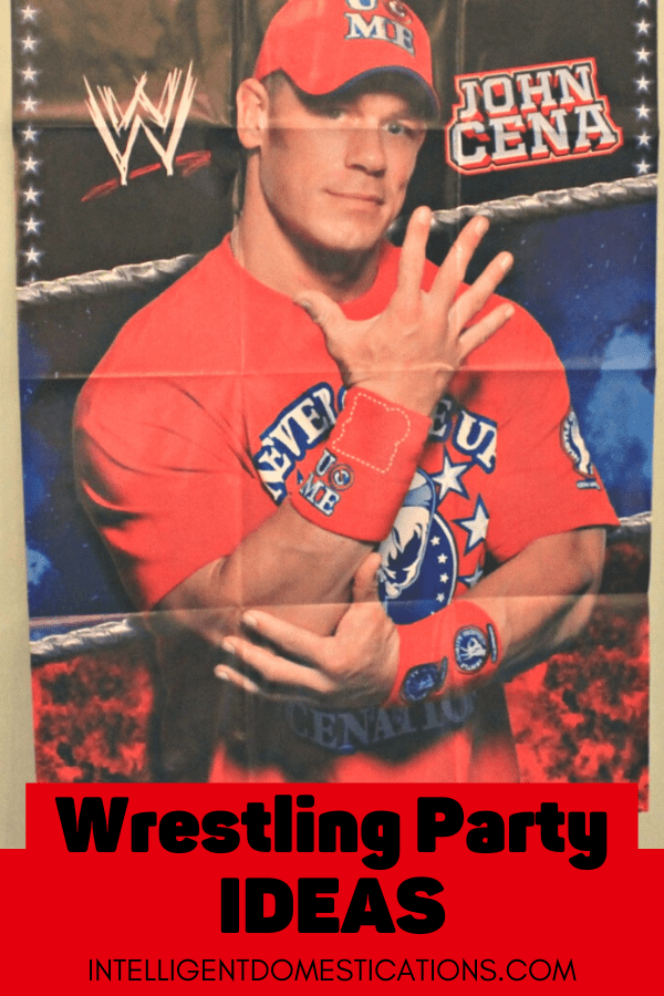 Our Wrestlemania Party was fun for the kids and adults. We served WWE Pun Name Food and had at least one game for the youngest to enjoy. As a WWE family, we have multiple posts with WWE Party Ideas including this one. #WWEParty #intellid