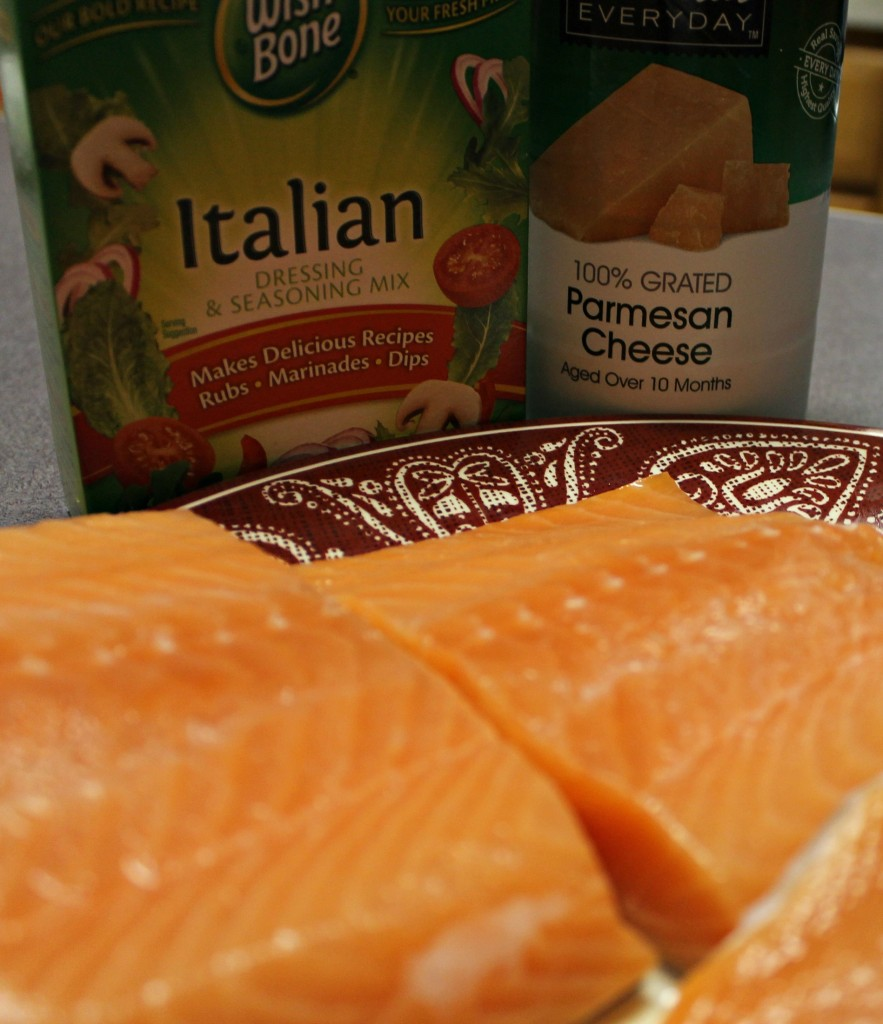 Itlian dressing mix and parmesean cheese ingredients
