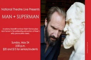 Man + Superman at the Douglas