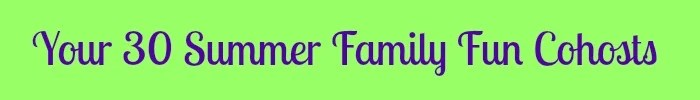 Summer Family Fun Co-Host graphic
