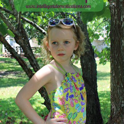 Sew A Girl's Bandana Summer Top