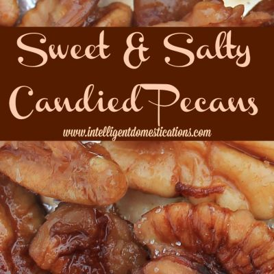 Sweet & Salty Candied Pecans Recipe