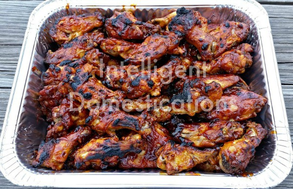 3 Ingredient BBQ Wings recipe. Crockpot BBQ Wings recipe. BBQ Wings Recipe. 3 Ingredient BBQ Wings Recipe. #BBQWings #Crockpotwings #Footballfood #Summerfood #fallfood #wingsrecipe #bbq #slowcookerwings