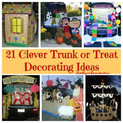 21 Clever Trunk or Treat Ideas To Inspire Your Creativity