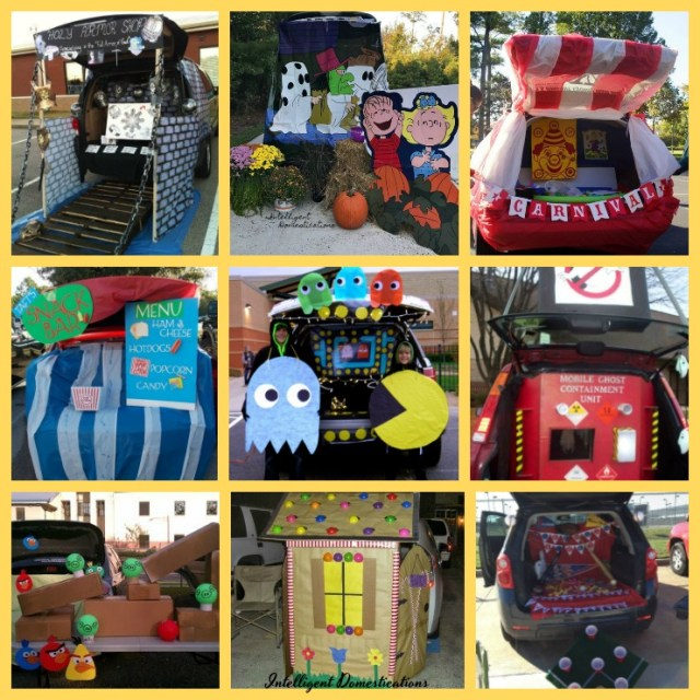 24 Clever Trunk or Treat Decorating Ideas to DIY. #trunkortreat