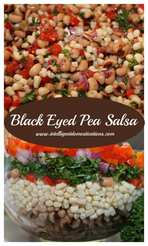 Black eye pea salsa recipe. Cowboy Caviar. Vegetable Salsa.