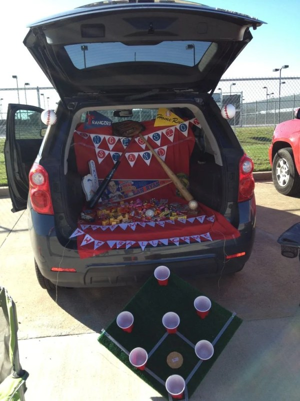 Take Me Out To The Ballpark. 21 Clever Trunk or Treat Ideas. Trunk or Treat