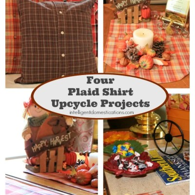 Four Smart Ways To Repurpose Flannel Shirts For Home Decor