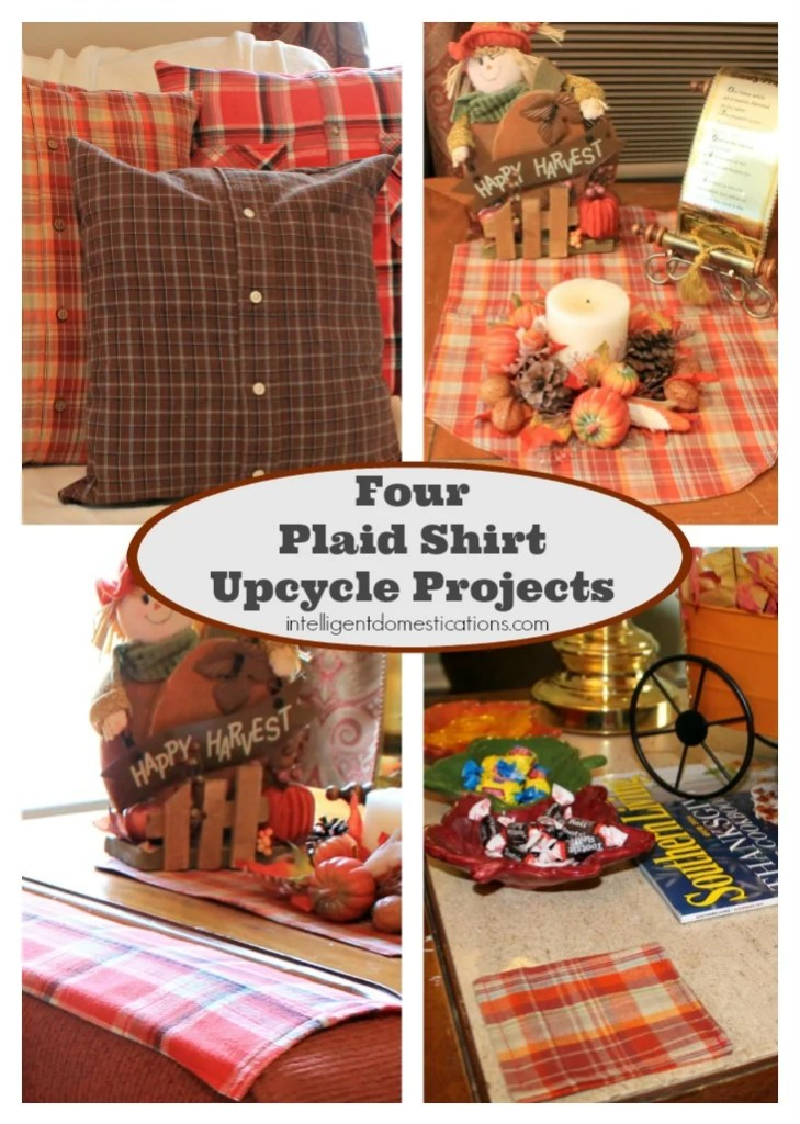 Pictures of plaid fall decor
