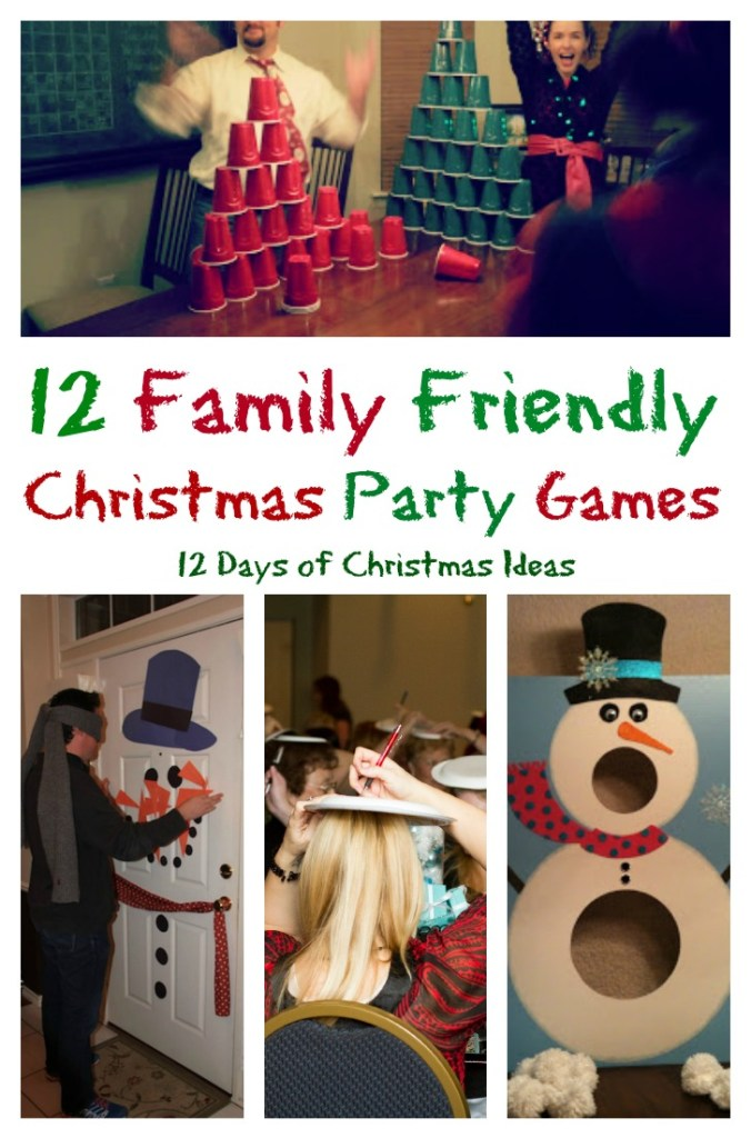 12 Family Friendly Christmas Games and 12 Days of Christmas Ideas.intelligentdomestications.com