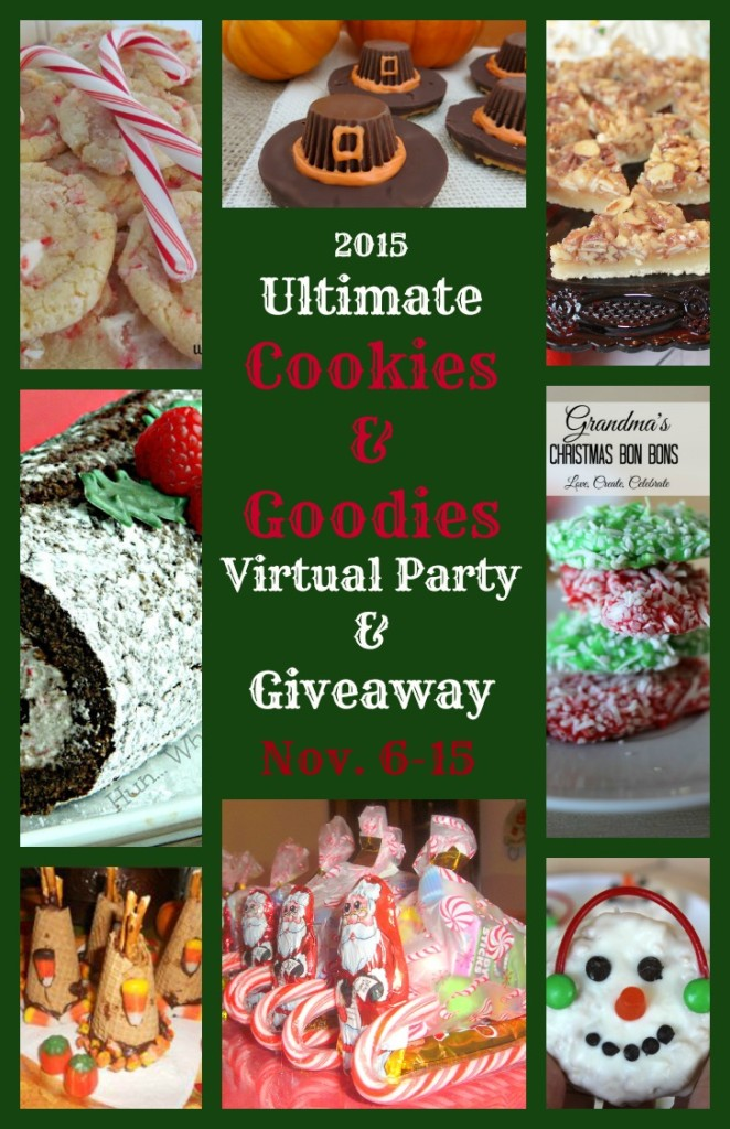 2015 Ultimate Cookies & Goodies Virtual Party & Giveaway 727x1124