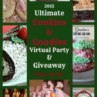 Ultimate Cookies & Goodies Virtual Party and Giveaway