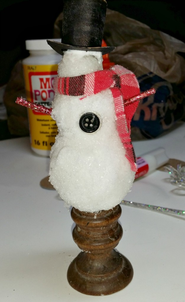 Chilly the Snowman is a work in progress.intelligentdomestications.com