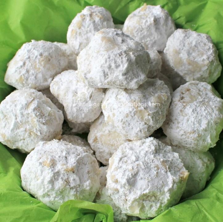 Pecan Sandies Snowball Cookies 5 at www.intelligentdomestications.com