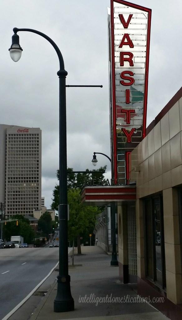 Varsity Atlanta. Street side sign.intelligentdomestications