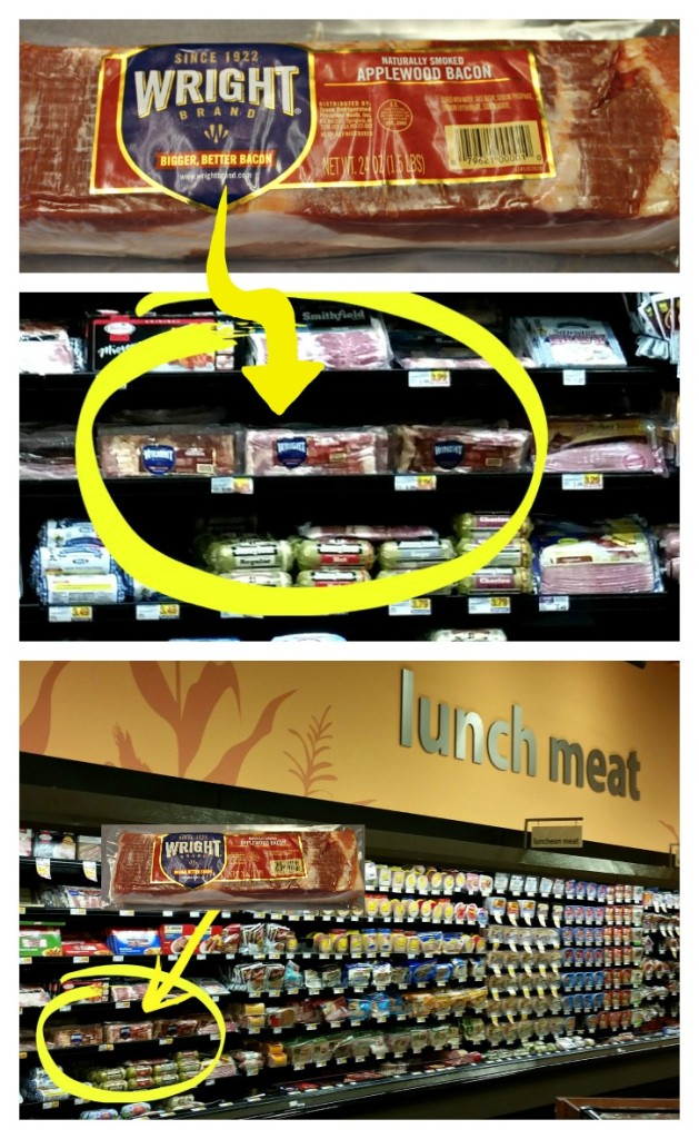 Where to find Wright brand bacon in the Kroger.intelligentdomestications.com