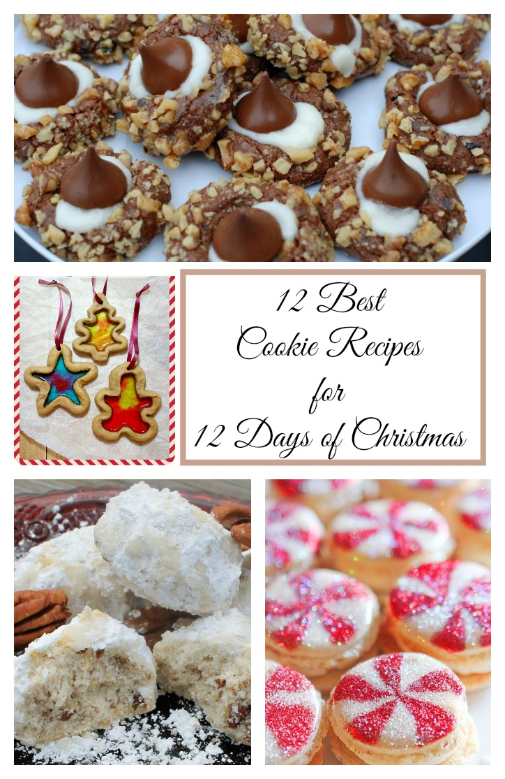 12 Best Cookie Recipes for 12 Days of Christmas Pinterest image 724x1115