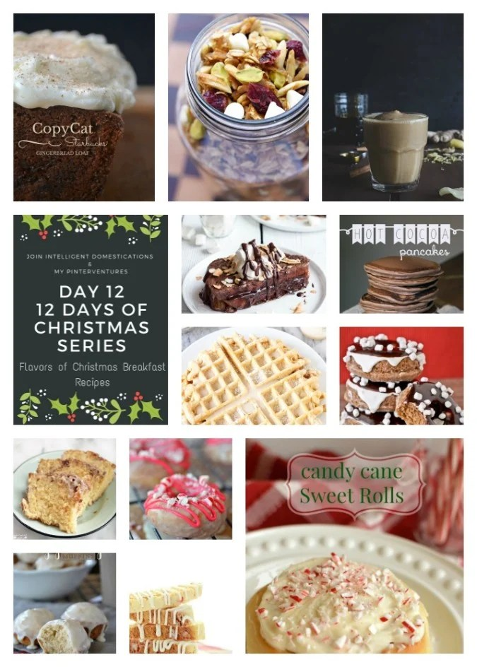 12 Flavors of Christmas Breakfast Recipes | Intelligent Domestications