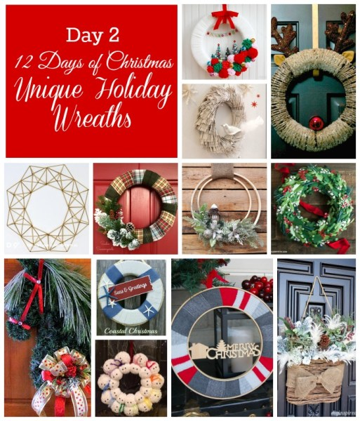 12 Christmas Wreath Ideas for your Christmas season