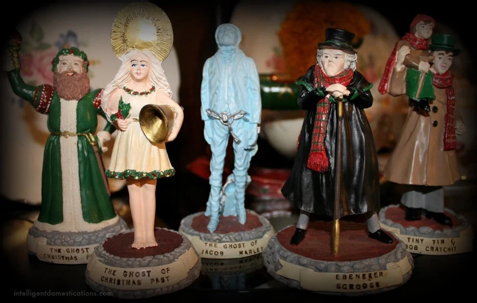 Christmas Home Tour 2015. A Christmas Carol Figures.intelligentdomestications.com