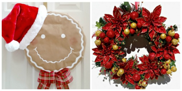 Unique Christmas Wreath Ideas you can make yourself