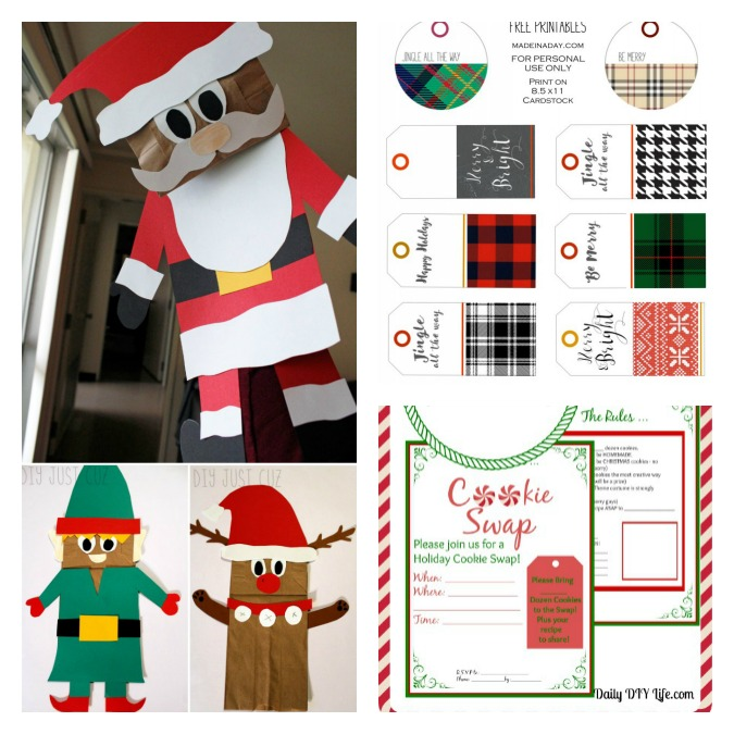 Free Printables for 12 Days of Christmas. 1.intelligentdomestications.com