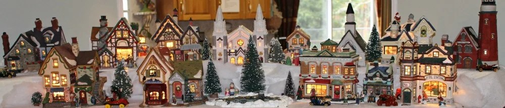 Holiday Home Tour 2015. Christmas Village.intelligentdomestications.com
