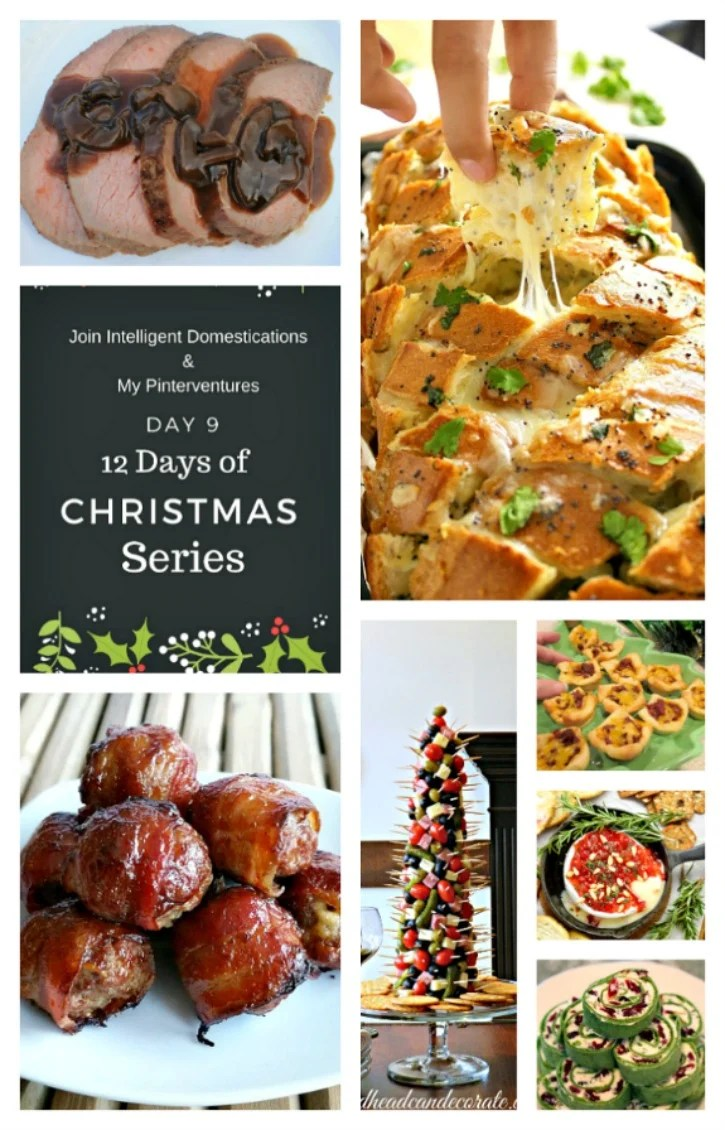 Party Foods for 12 Days of Christmas.725x1130