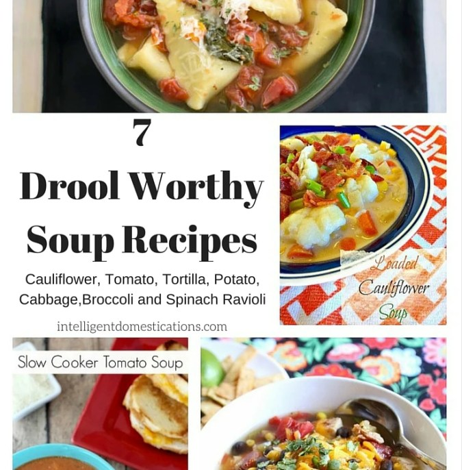7 Drool Worthy Soup Recipes at intelligentdomestications.com