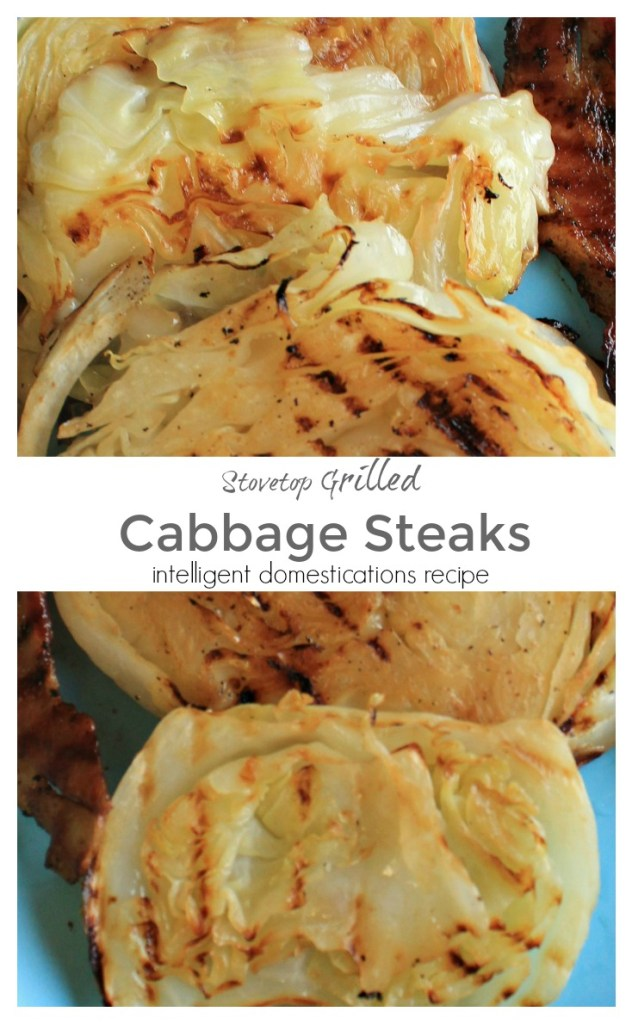 How to cook cabbage steaks. Cabbage steaks cooked on the stove. Stovetop Grilled cabbage Steaks. Grilled Cabbage Steaks