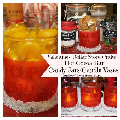 My $4 Valentine's Craft &  A Budget Crafts Blog Hop
