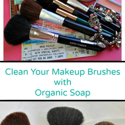 Clean Your Makeup Brushes With Organic Soap