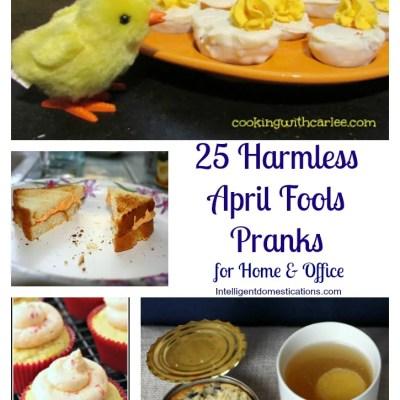 25 Harmless April Fools Pranks