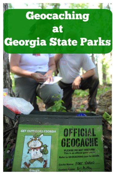 Geocaching at Georgia State Parks