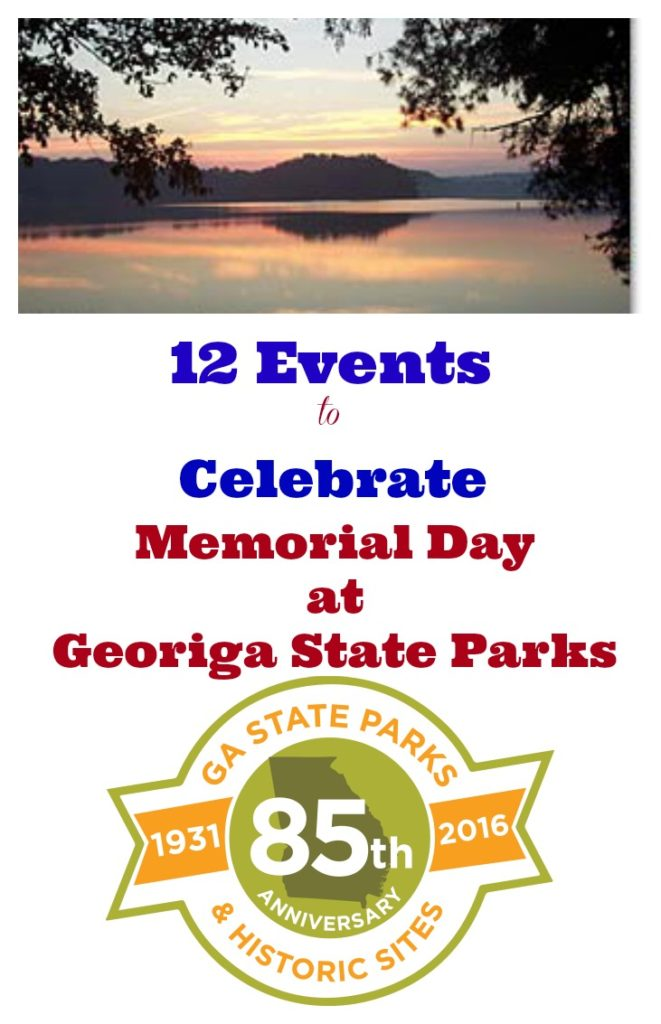 12 Events to Celebrate Memorial Day at Georgia State Parks 2016