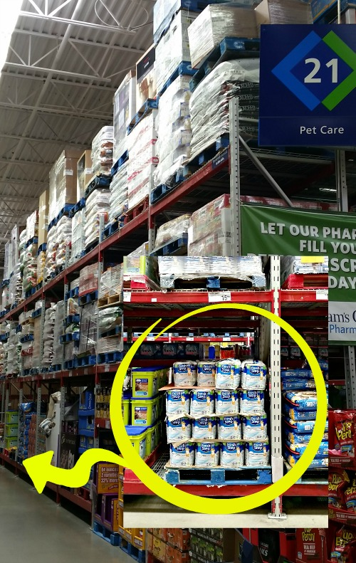 Find Fresh Step with the power of Febreeze at Sam's Club on the Pet Care isle