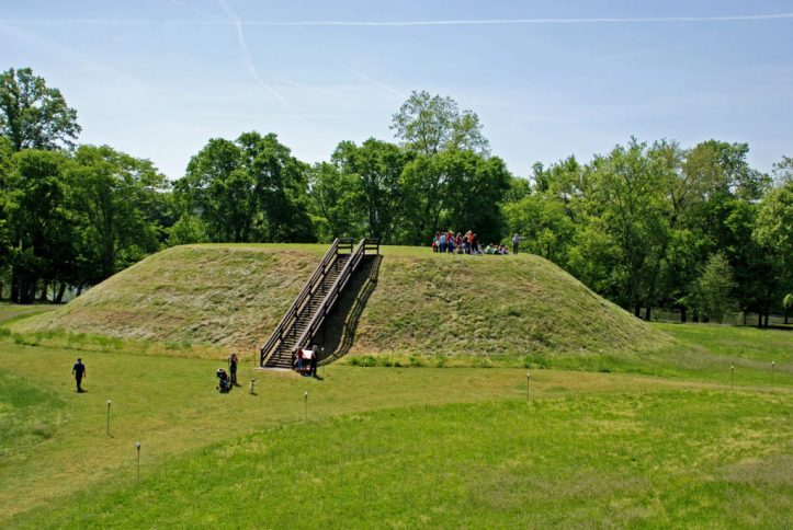 etowah group on mound